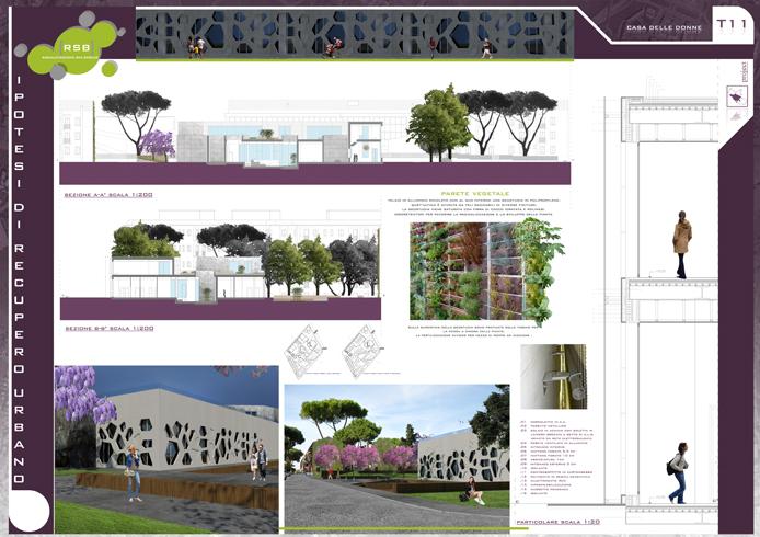 tav11 ipotesi di recupero quartiere San Basilio Roma